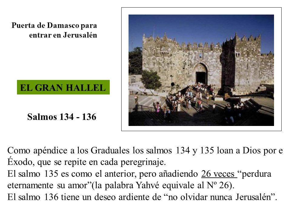 El salmo 136 tiene un deseo ardiente de no olvidar nunca Jerusalén .