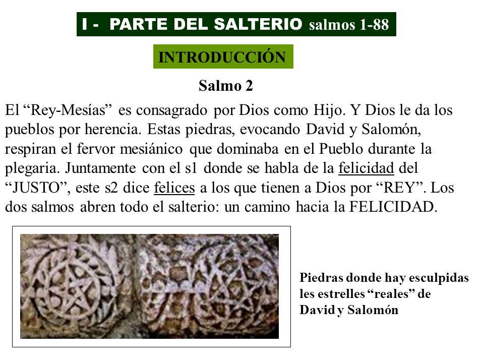 I - PARTE DEL SALTERIO salmos 1-88