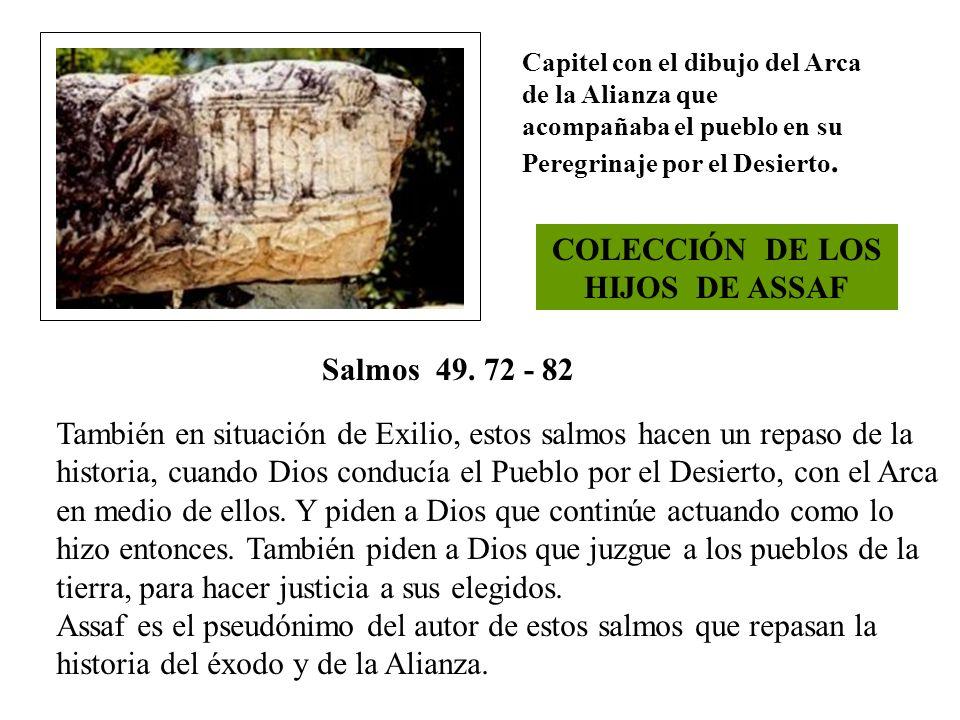 COLECCIÓN DE LOS HIJOS DE ASSAF
