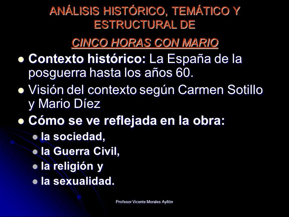 ANÁLISIS HISTÓRICO, TEMÁTICO Y ESTRUCTURAL DE CINCO HORAS CON MARIO