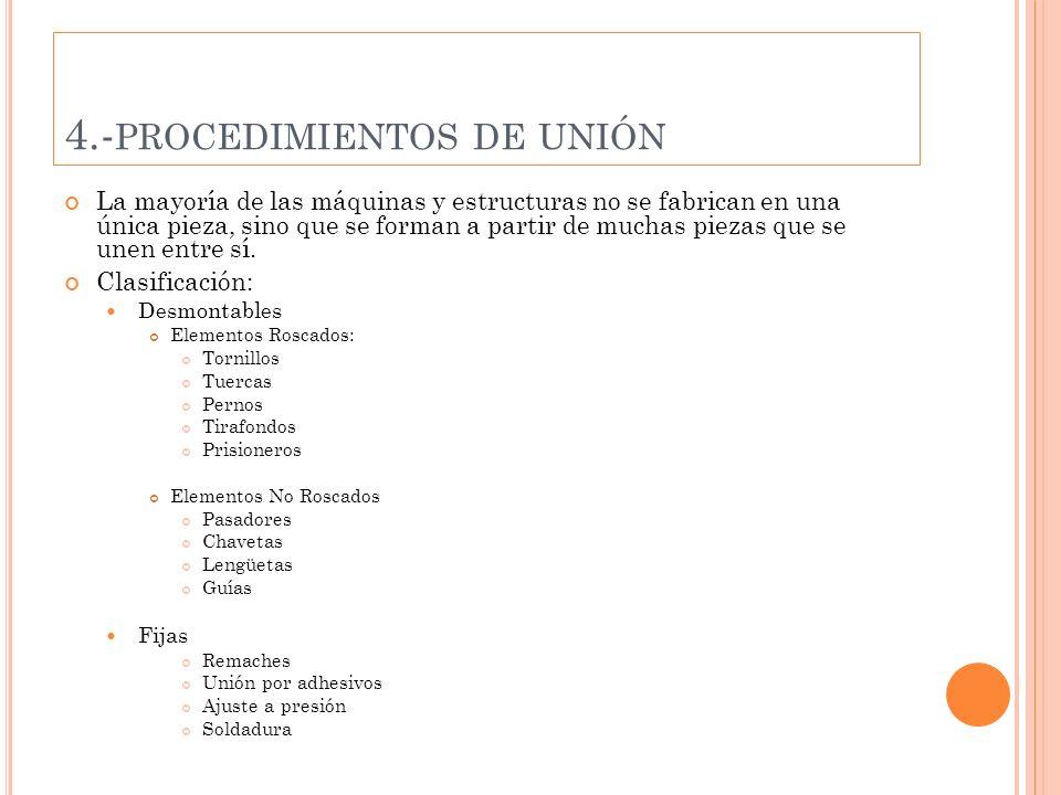 4.-procedimientos de unión