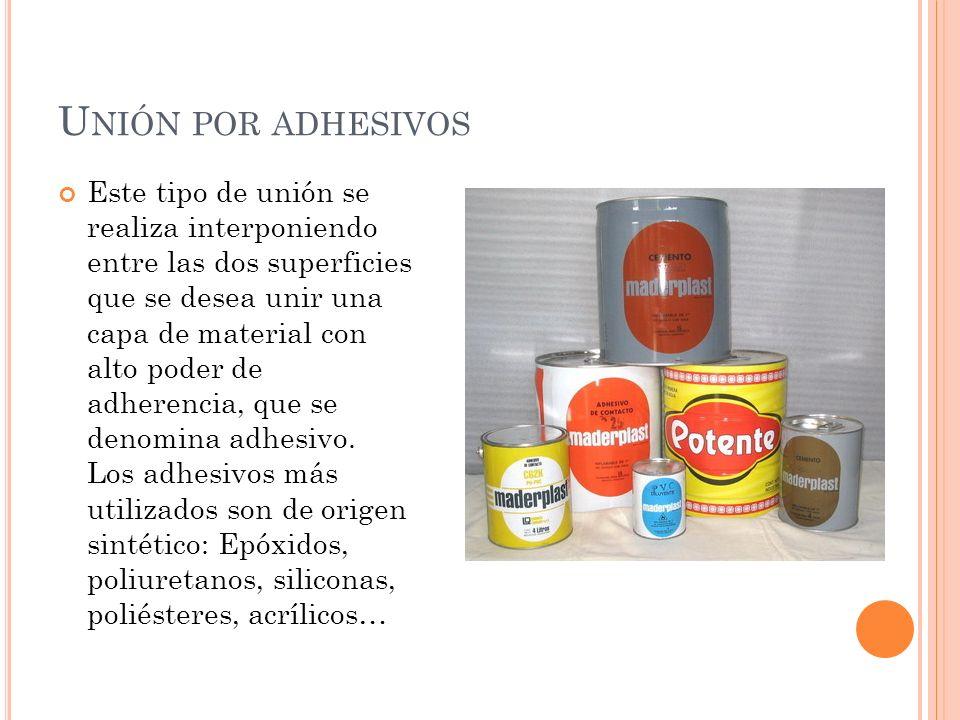 Unión por adhesivos
