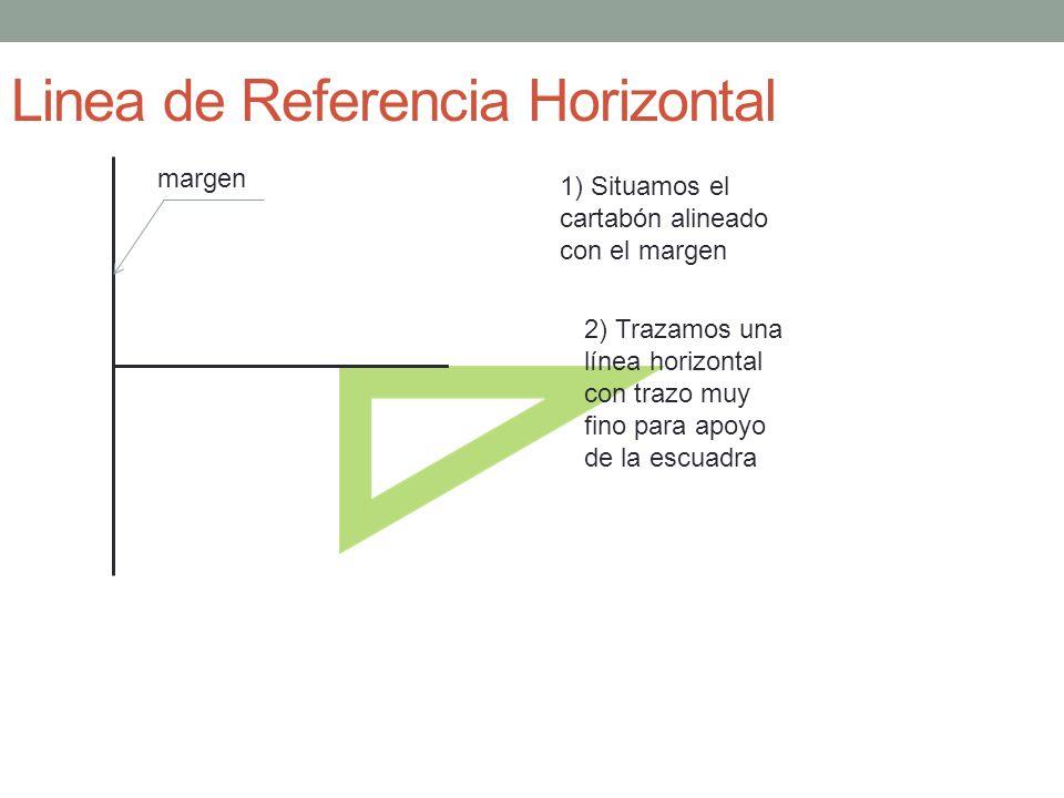 Linea de Referencia Horizontal