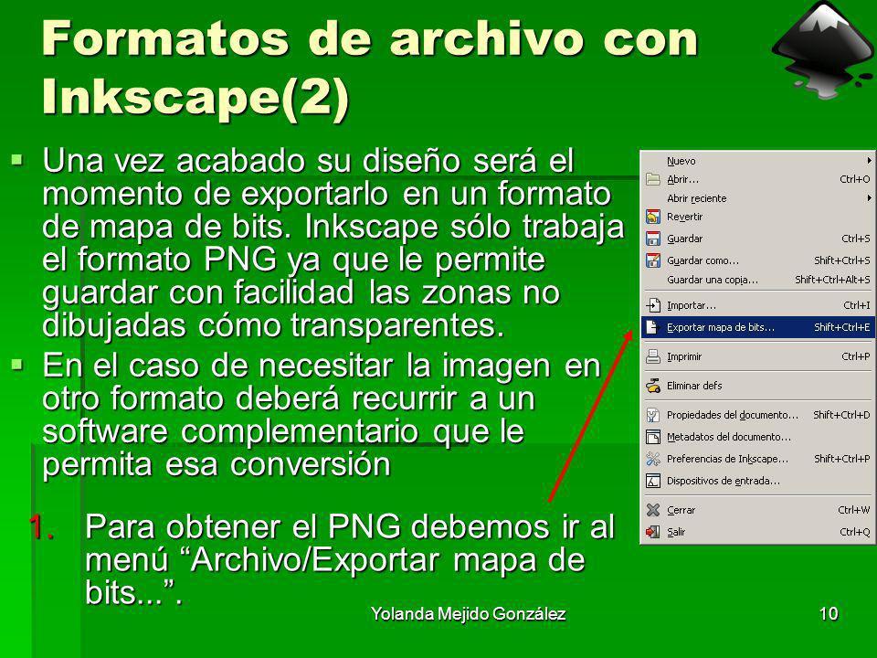 Formatos de archivo con Inkscape(2)