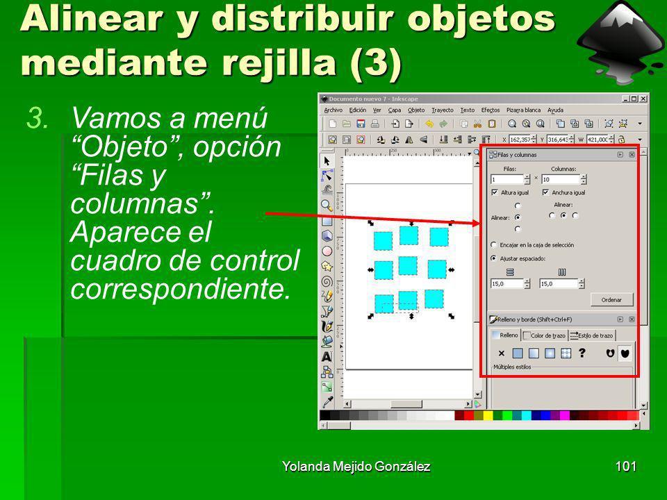 Alinear y distribuir objetos mediante rejilla (3)