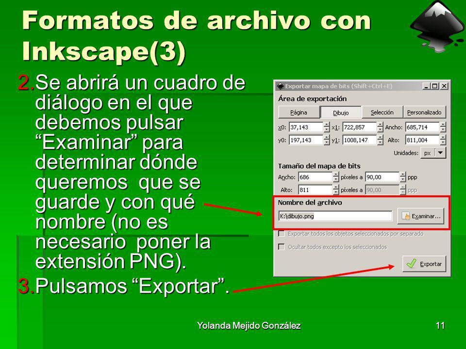 Formatos de archivo con Inkscape(3)