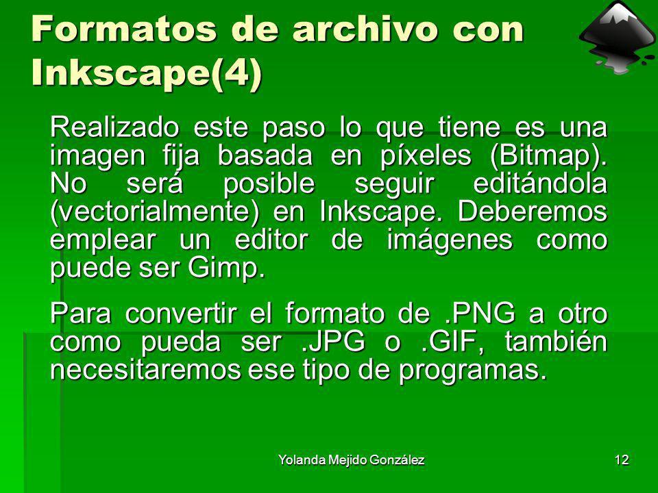 Formatos de archivo con Inkscape(4)