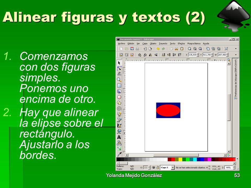 Alinear figuras y textos (2)