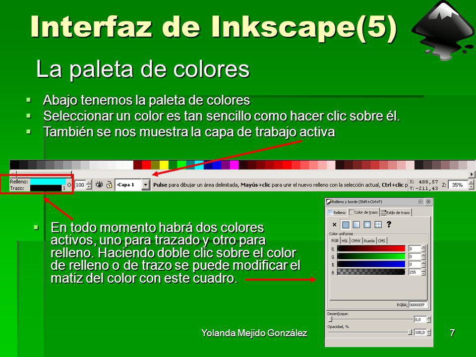 Interfaz de Inkscape(5)