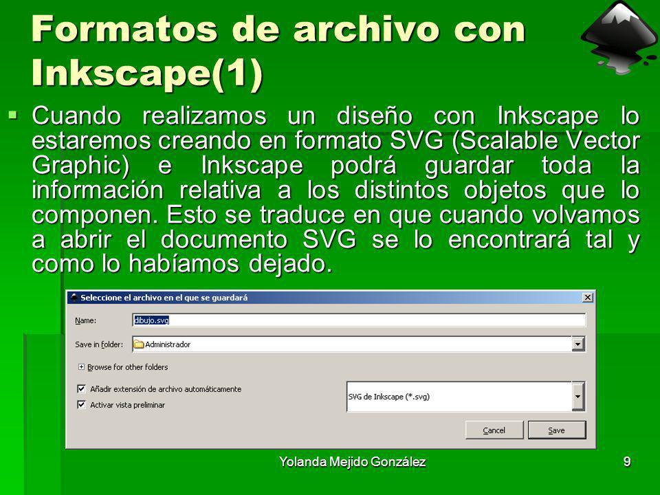 Formatos de archivo con Inkscape(1)