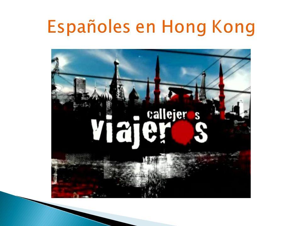 Españoles en Hong Kong