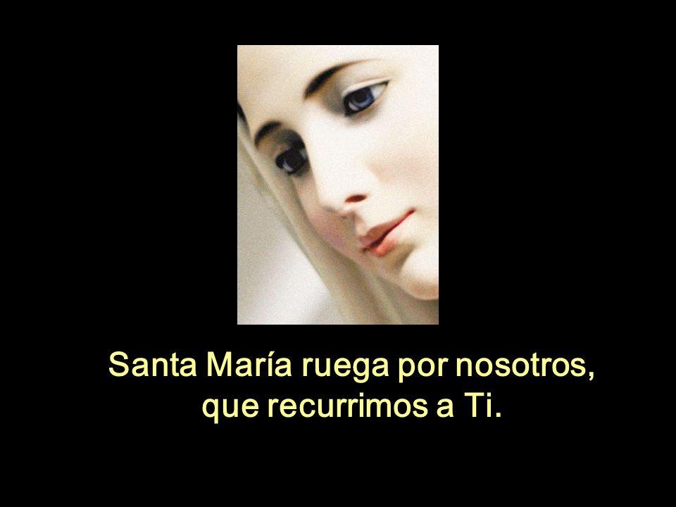 Santa María ruega por nosotros,