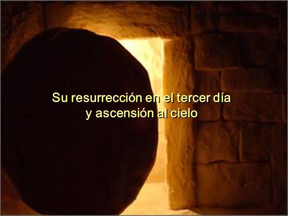 Su resurrección en el tercer día