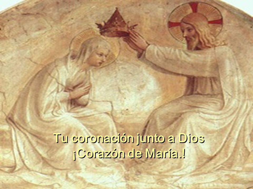 Tu coronación junto a Dios