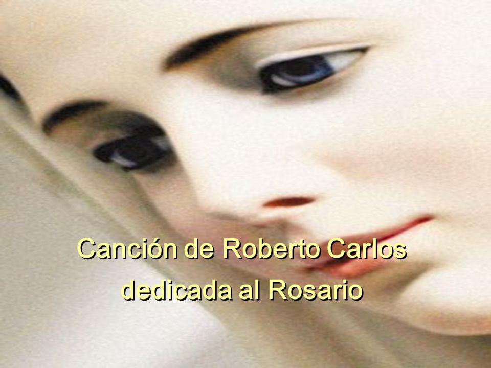 Canción de Roberto Carlos