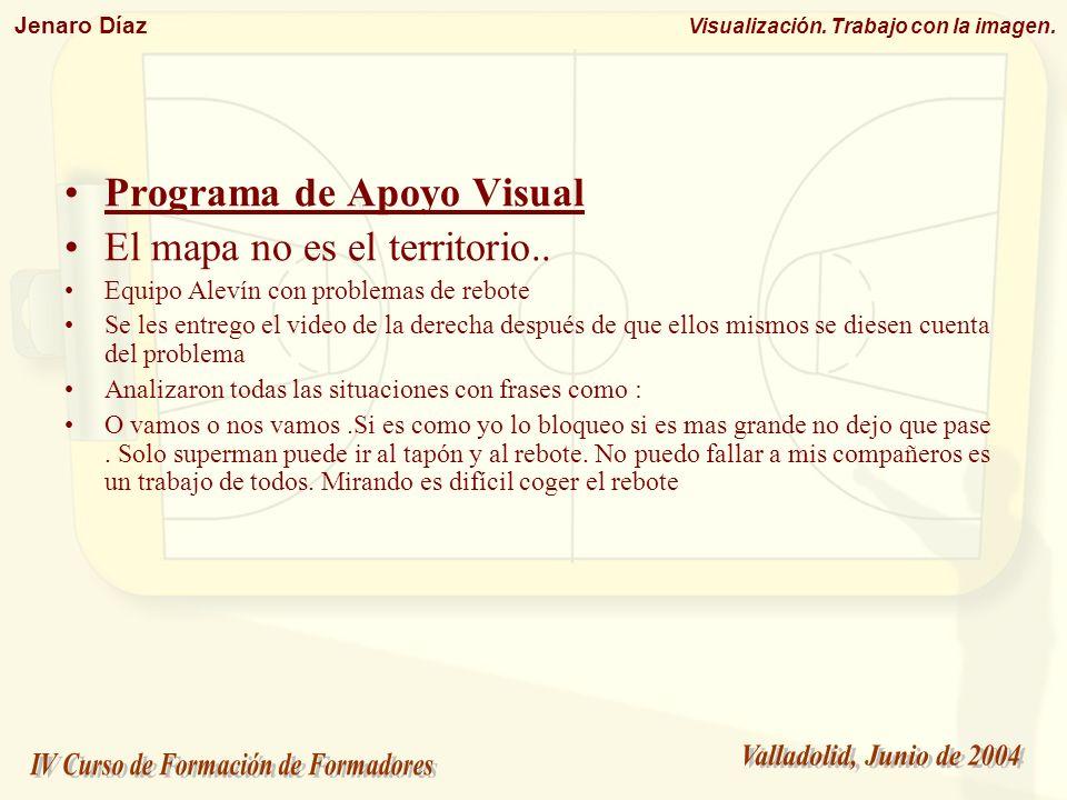 Programa de Apoyo Visual El mapa no es el territorio..