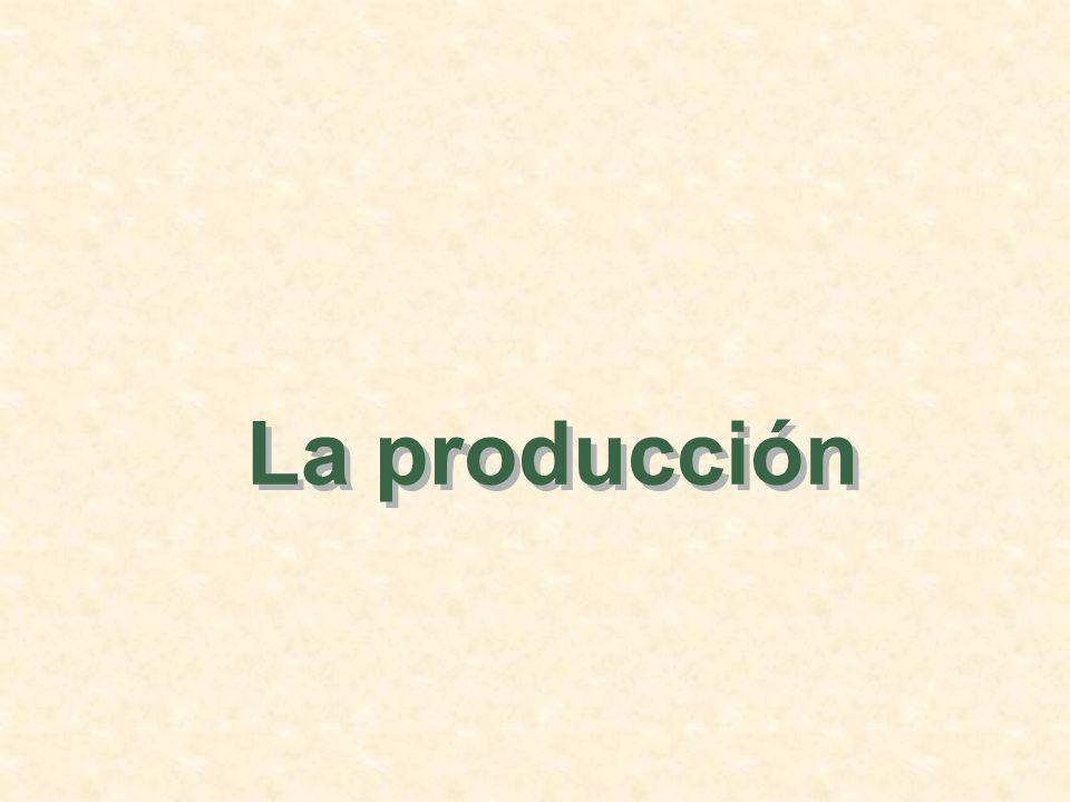 La producción 1