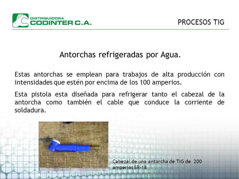 Antorchas refrigeradas por Agua.