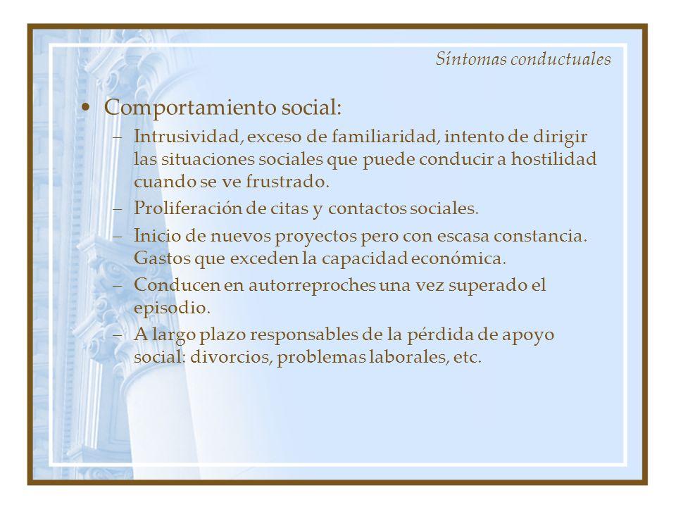 Comportamiento social: