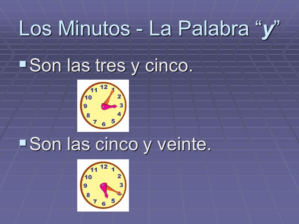 Los Minutos - La Palabra y