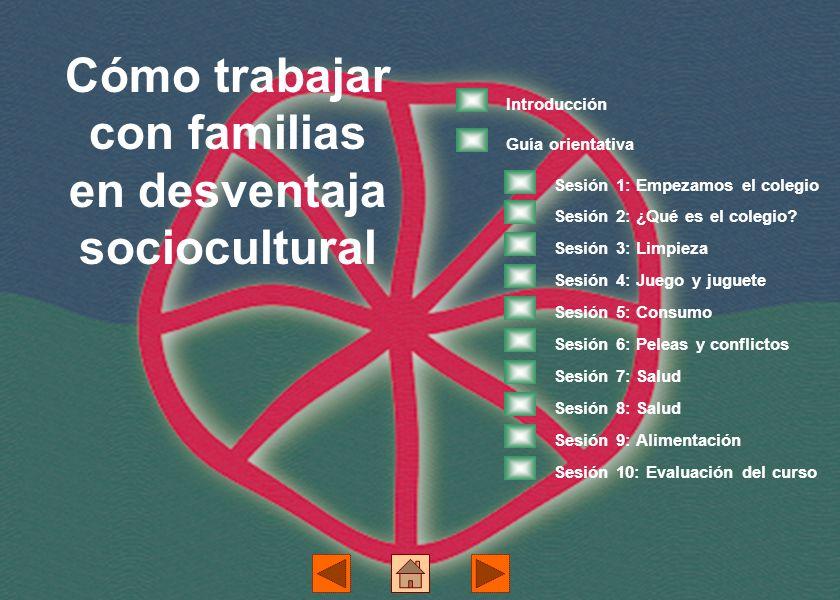 Cómo trabajar con familias en desventaja sociocultural