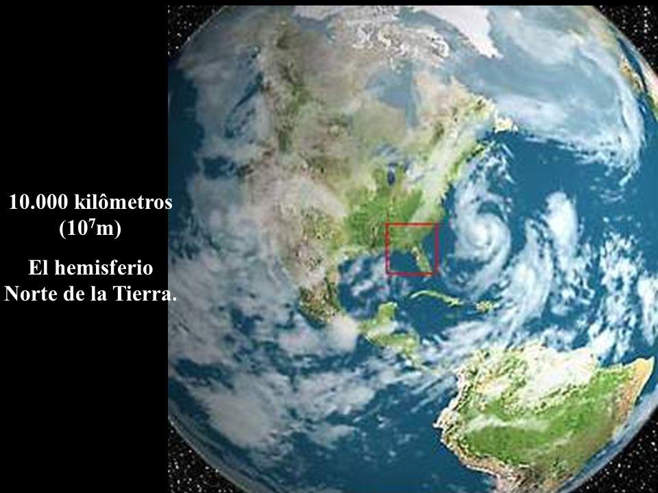 El hemisferio Norte de la Tierra.