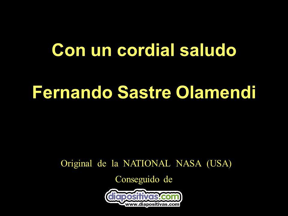 Con un cordial saludo Fernando Sastre Olamendi