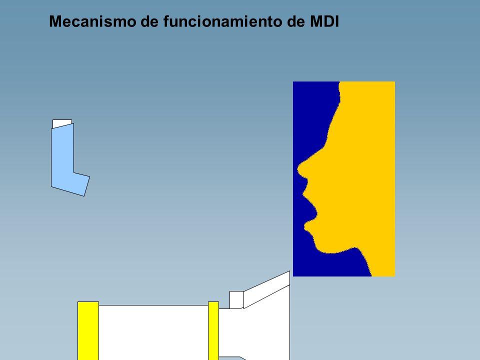 Mecanismo de funcionamiento de MDI