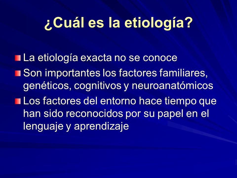 ¿Cuál es la etiología La etiología exacta no se conoce