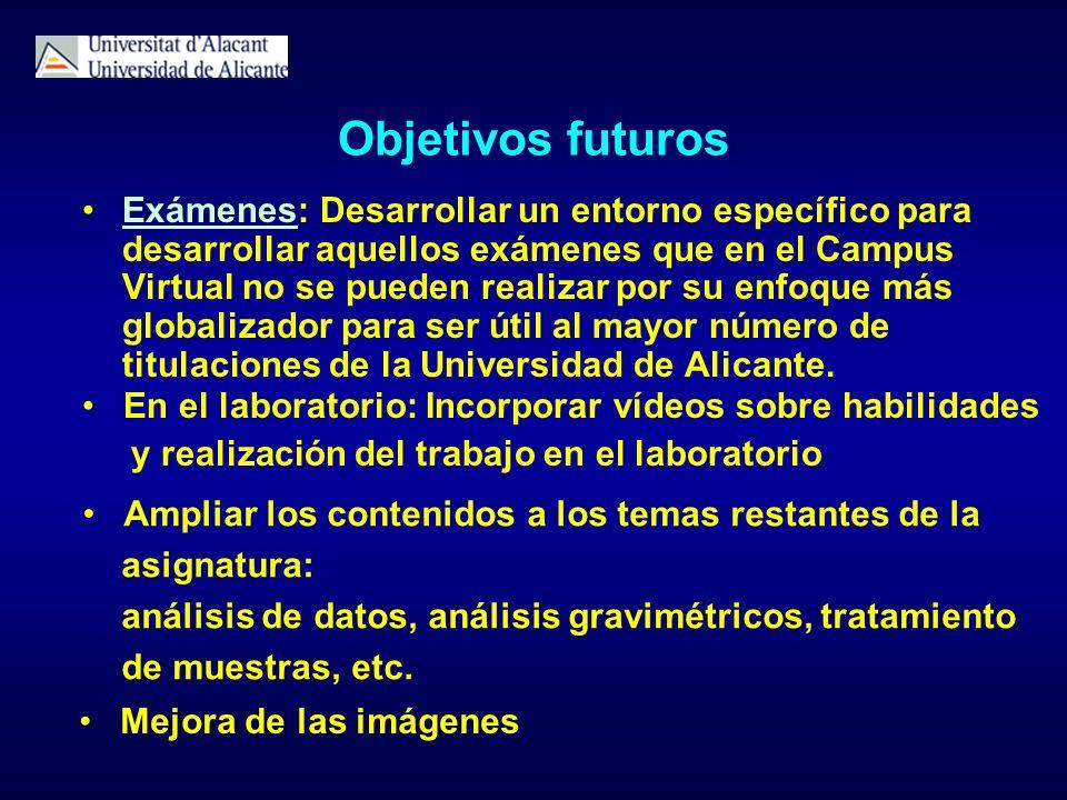 Objetivos futuros