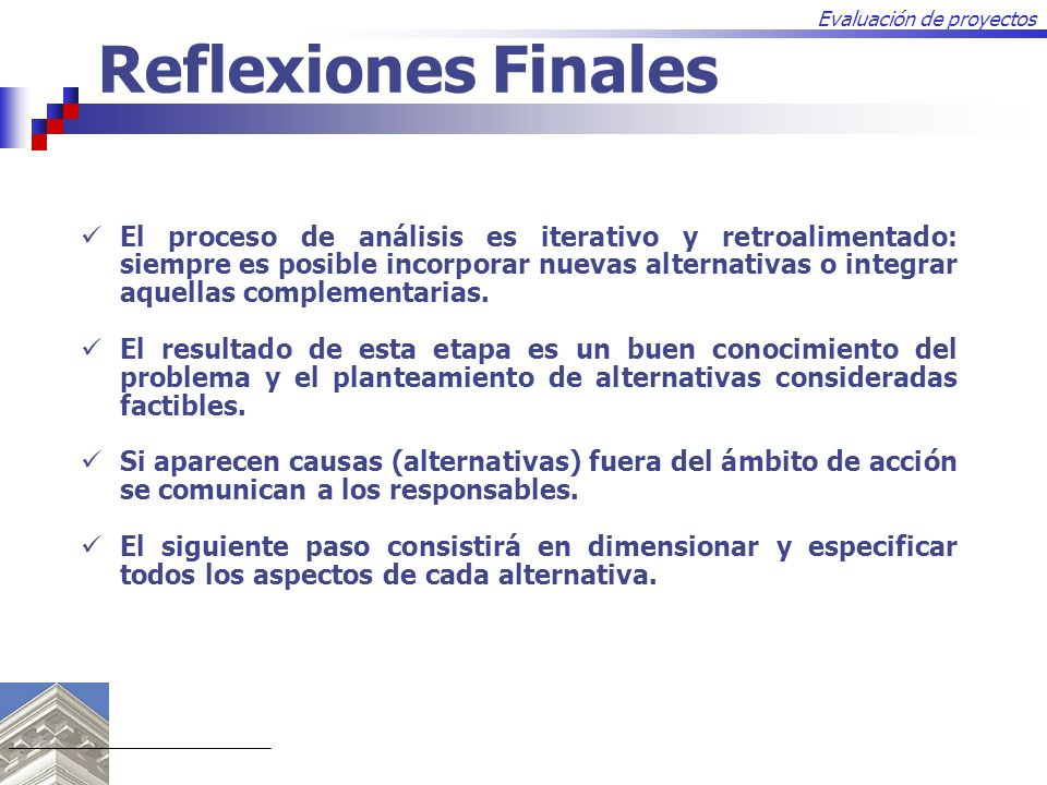 Reflexiones Finales
