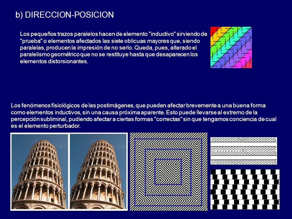 b) DIRECCION-POSICION