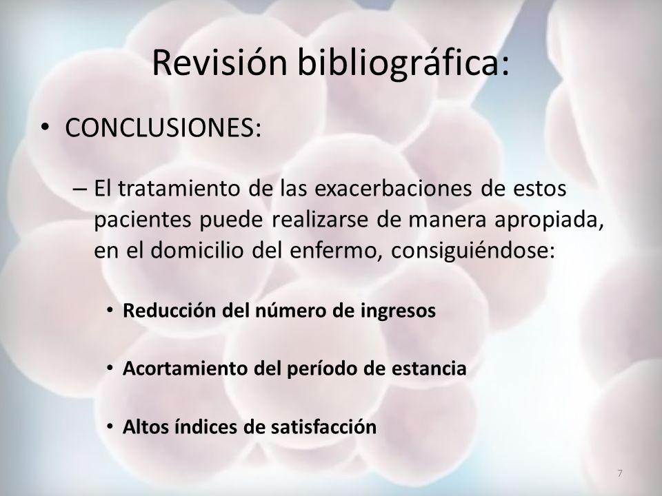 Revisión bibliográfica: