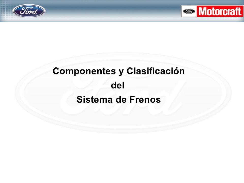 Componentes y Clasificación