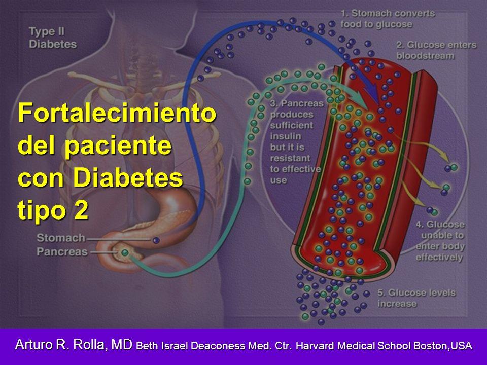 Fortalecimiento del paciente con Diabetes tipo 2