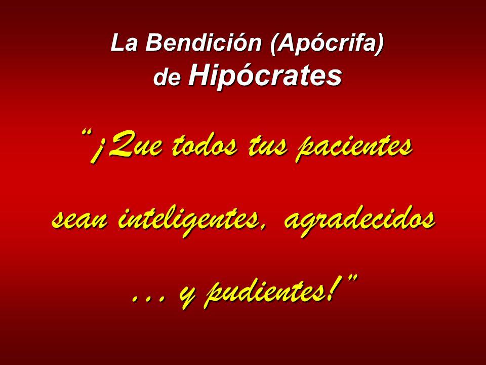 La Bendición (Apócrifa) de Hipócrates