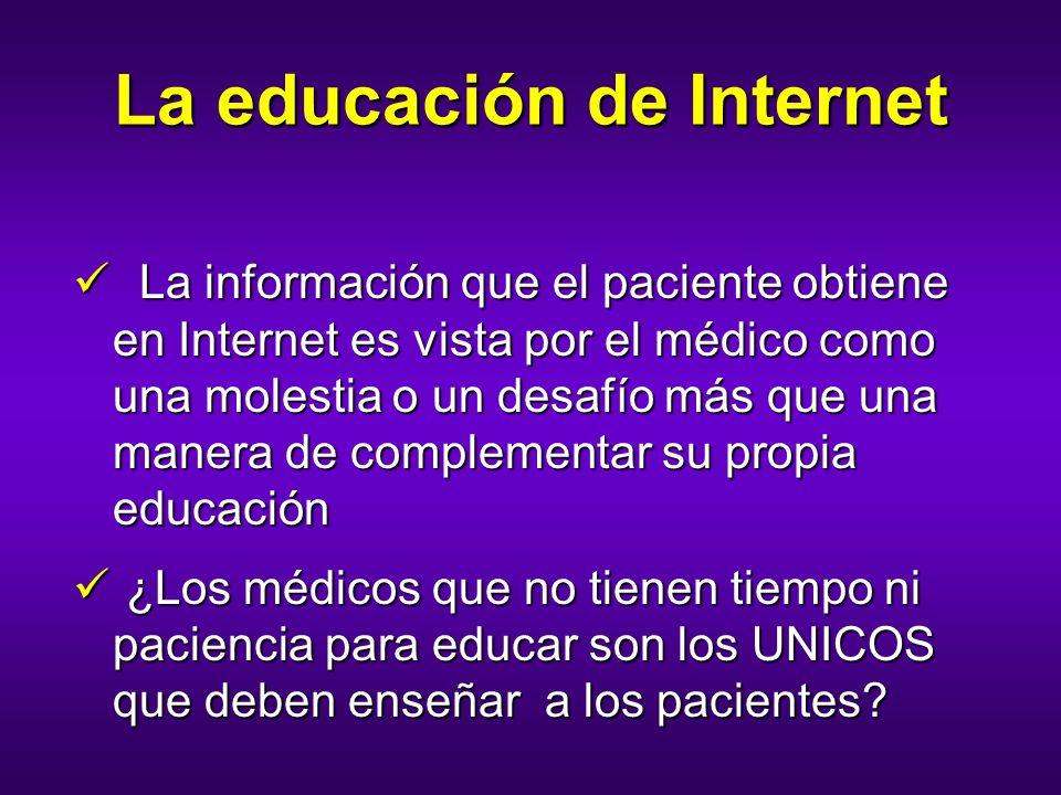 La educación de Internet
