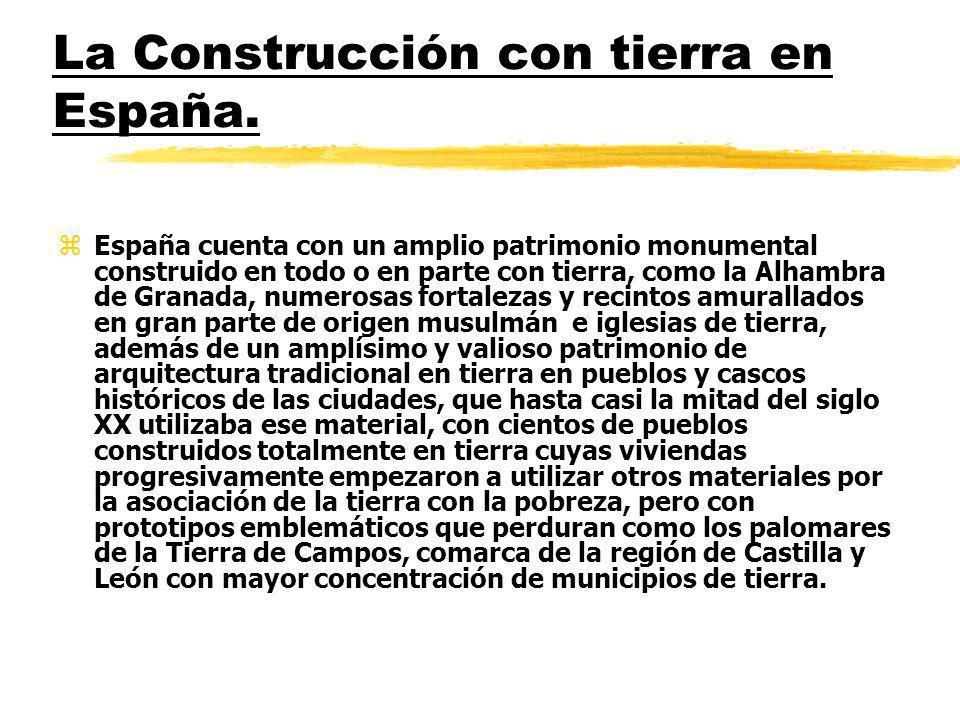 La Construcción con tierra en España.