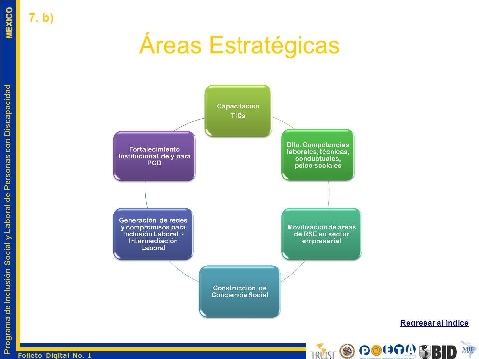 7. b) Áreas Estratégicas