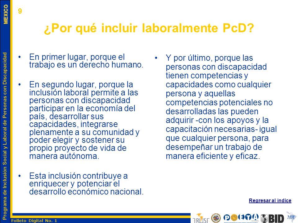 ¿Por qué incluir laboralmente PcD