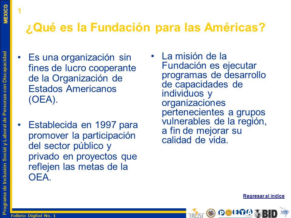 ¿Qué es la Fundación para las Américas