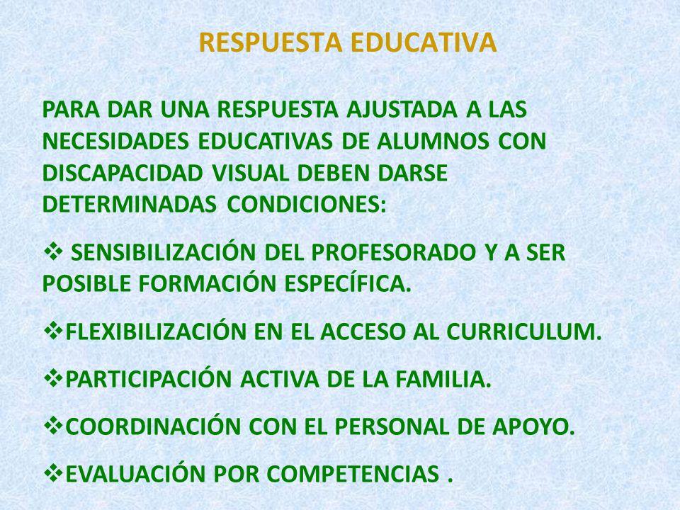 RESPUESTA EDUCATIVA