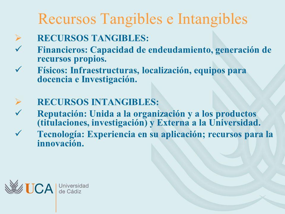 Recursos Tangibles e Intangibles
