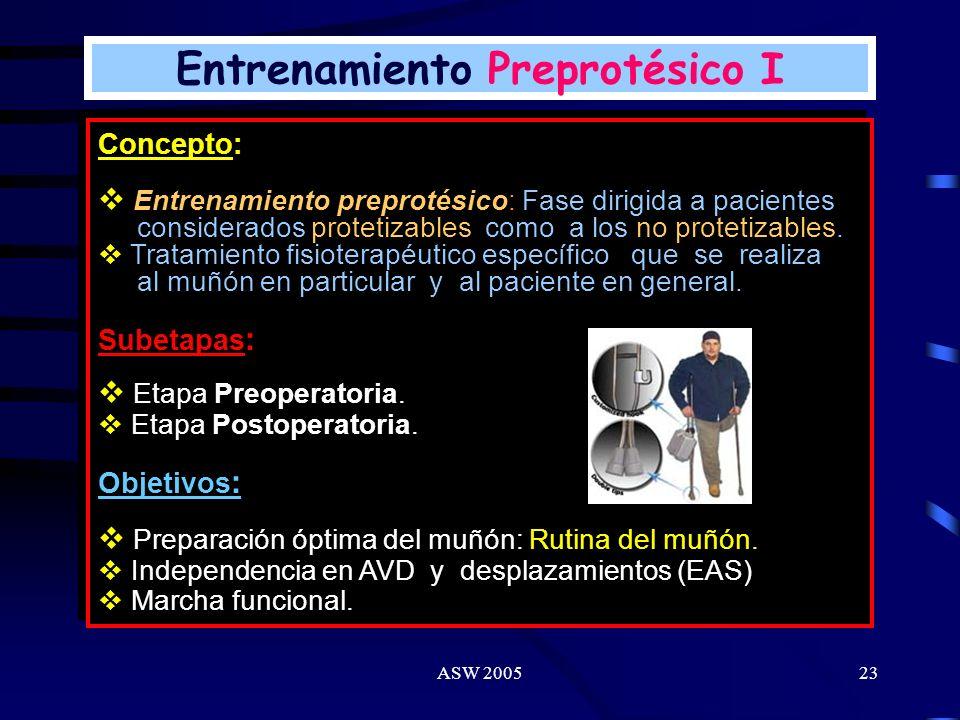Entrenamiento Preprotésico I