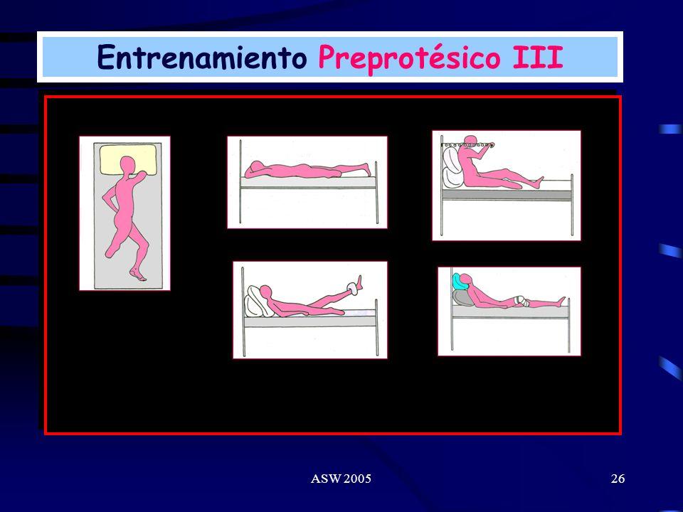 Entrenamiento Preprotésico III
