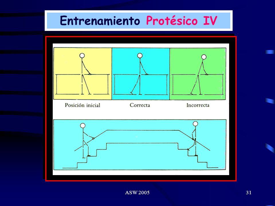 Entrenamiento Protésico IV