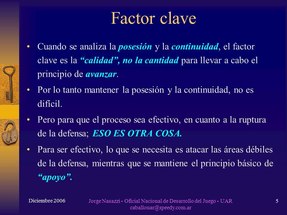 Factor clave