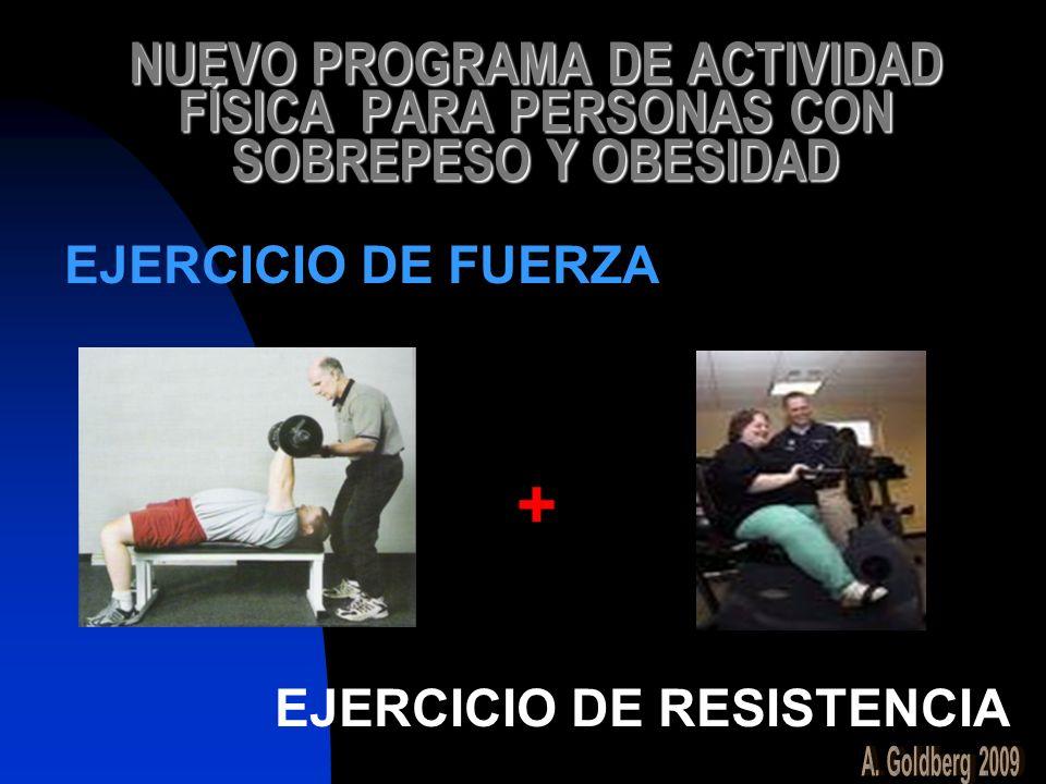 NUEVO PROGRAMA DE ACTIVIDAD FÍSICA PARA PERSONAS CON SOBREPESO Y OBESIDAD