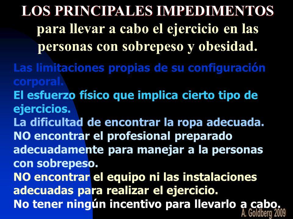 LOS PRINCIPALES IMPEDIMENTOS