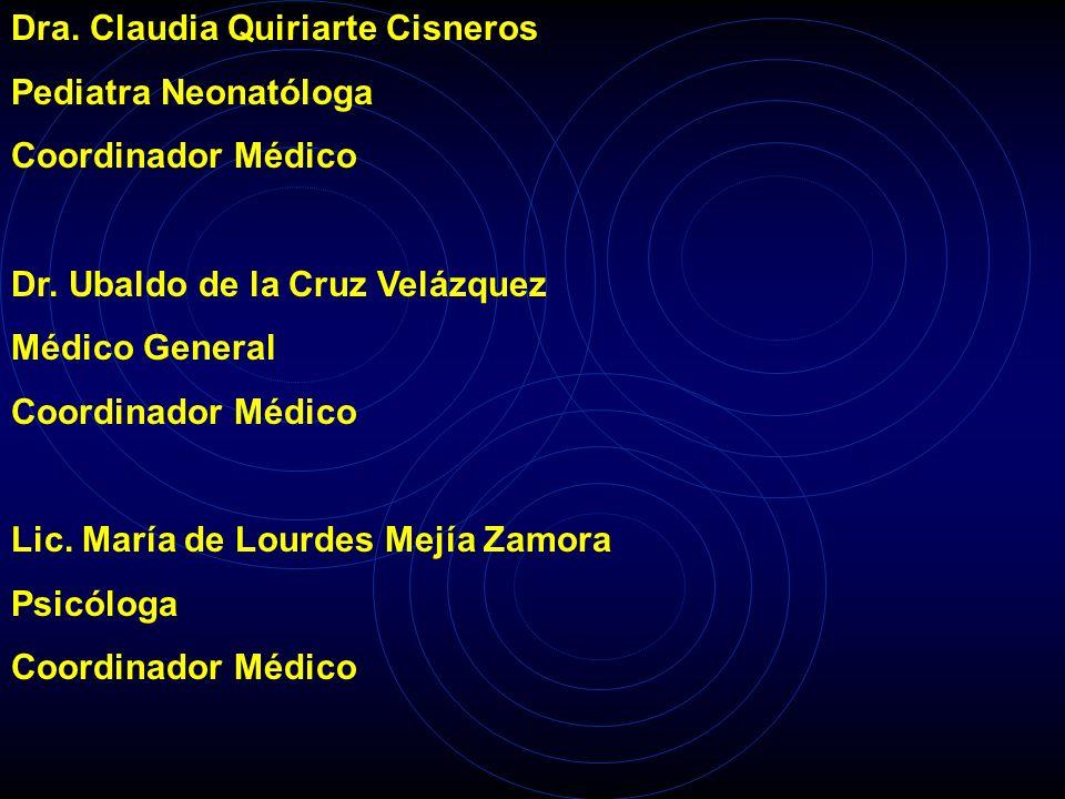 Dra. Claudia Quiriarte Cisneros